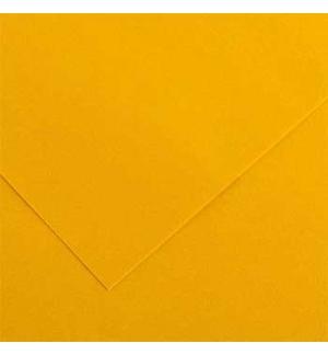 Cartolina 185gr 1 Folha 50x65cm Canson Iris Amarelo Torrado