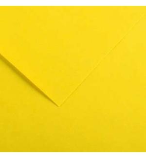 Cartolina 185gr 1 Folha 50x65cm Canson Iris Amarelo Canario