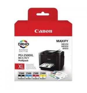 Pack Tinteiros Canon 2500XL 4 Cores 9254B004