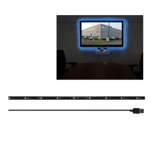Conjunto com Faixa LED RGB Flexível com Efeitos USB