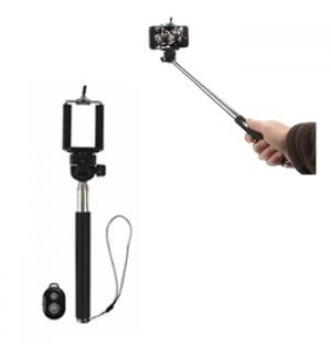 Monope Telescopico p/Selfies com disparo remoto do obturador