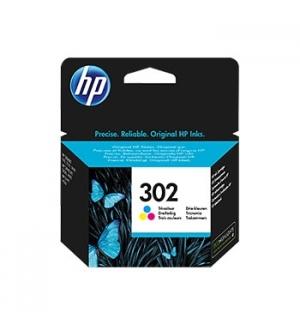 Tinteiro OfficeJet 3639/3800/3830 (F6U65A) Nº302 Cor