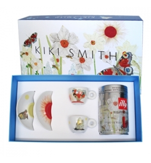 Conj Chav+Pires Esp Illy Art Collect Kiki Smith+Lata250gr 2u