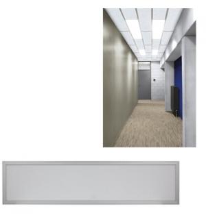 Painel de iluminacao LED 30 x 120 cm - branco neutro 41 W