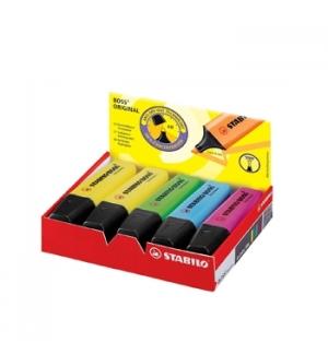 Marcador Fluorescente Stabilo Boss Sortido 70/10-1 Cx 10un