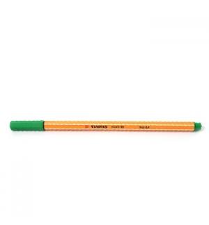 Marcador Fino 0,4mm Stabilo Fineliner Point 88 Verde Cx 10un