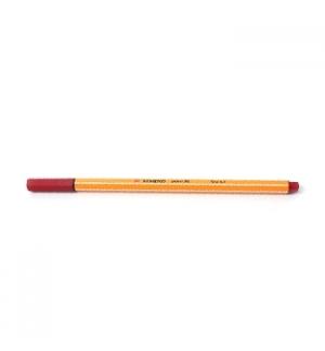 Marcador Fino 0,4mm Stabilo Fineliner Point 88 Vermelho Cx10
