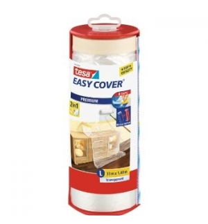 Fita Tesa Easy Cover Premium + Desenrolador 1400mmx33mts
