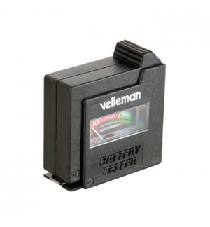Testador de baterias de bolso