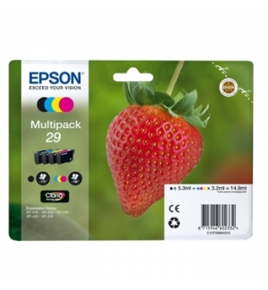 Tinteiro Expression Home XP330/XP435 Nº29 Pack 4 Cores