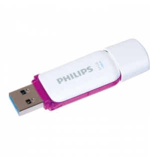 Pen Drive 64GB Philips Snow Edition Purple USB 2.0