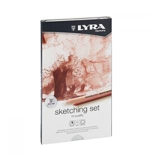 Lápis LYRA Rembrandt Art Specials Set Esboço Cx Metal 11un
