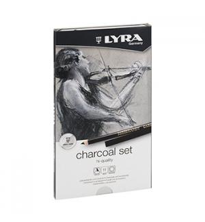 Lapis Lyra Rembrandt Art Specials Set Carvao Cx Metal 11un