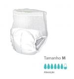 Cueca Fralda Presto com sistema Flex Right Tamanho M Pack 10