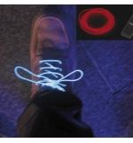 Set de fio electroluminescente cor vermelha 15mt
