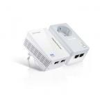 Kit Adaptador Powerline TP-Link ethernet c/ tomada AV500 WF