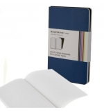 Volant XL Liso Moleskine Azul Escuro Pack 2un