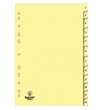 Separadores Cartolina Numerados (1 a 12)