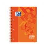 Caderno Espiral Oxford European Plastico 80Fl A4 Pautado Lar
