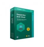 Kaspersky Anti Virus 2018 1 user box