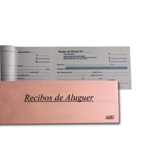 Blocos Impressos-Livro Recibos Renda para Particulares 1un