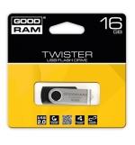 Flash Drive 16GB Goodram Twister USB 20 Preto
